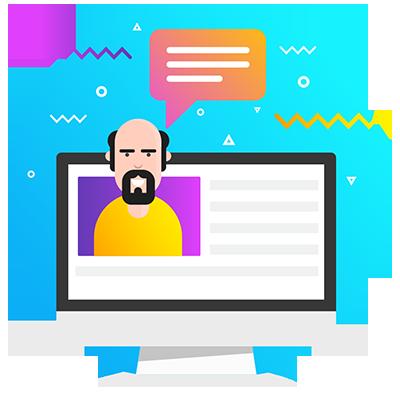 Customer Support - Icon - Egenz.com
