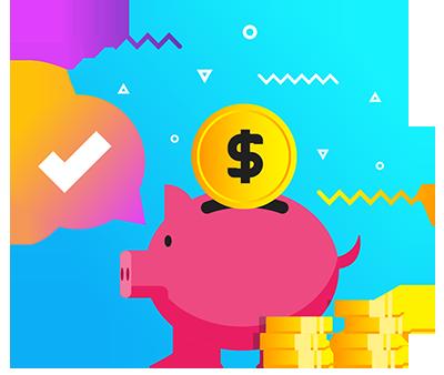 Saves You Money - Icon -Egenz.com