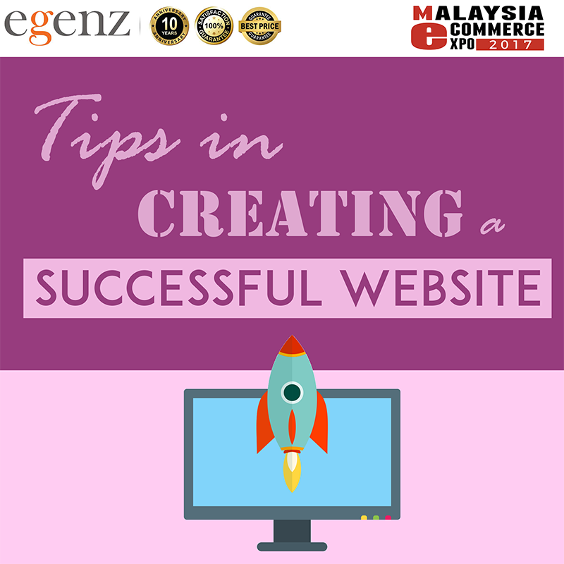 Tips in Creating a Successful Website – Egenz com