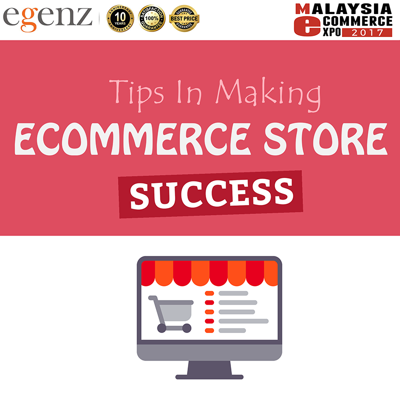 1-Tips in making your online store success