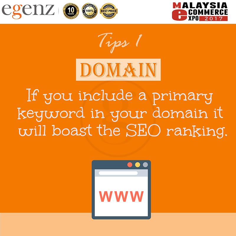 Tips 1 - Domain