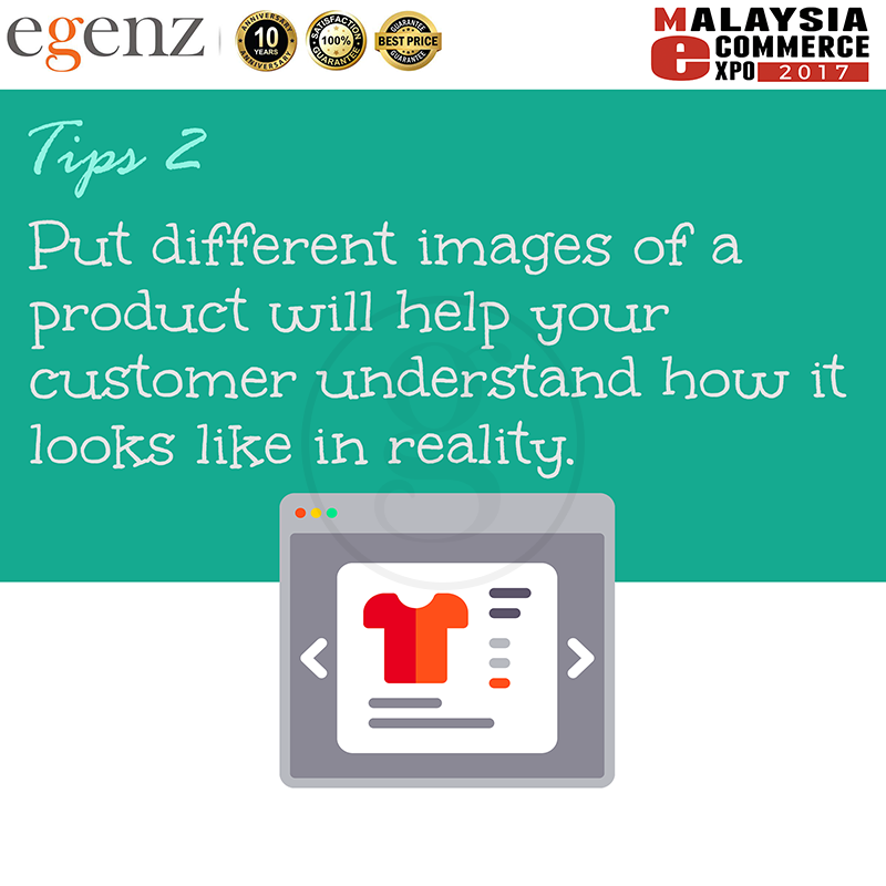 Tips 2 - Different Product Images