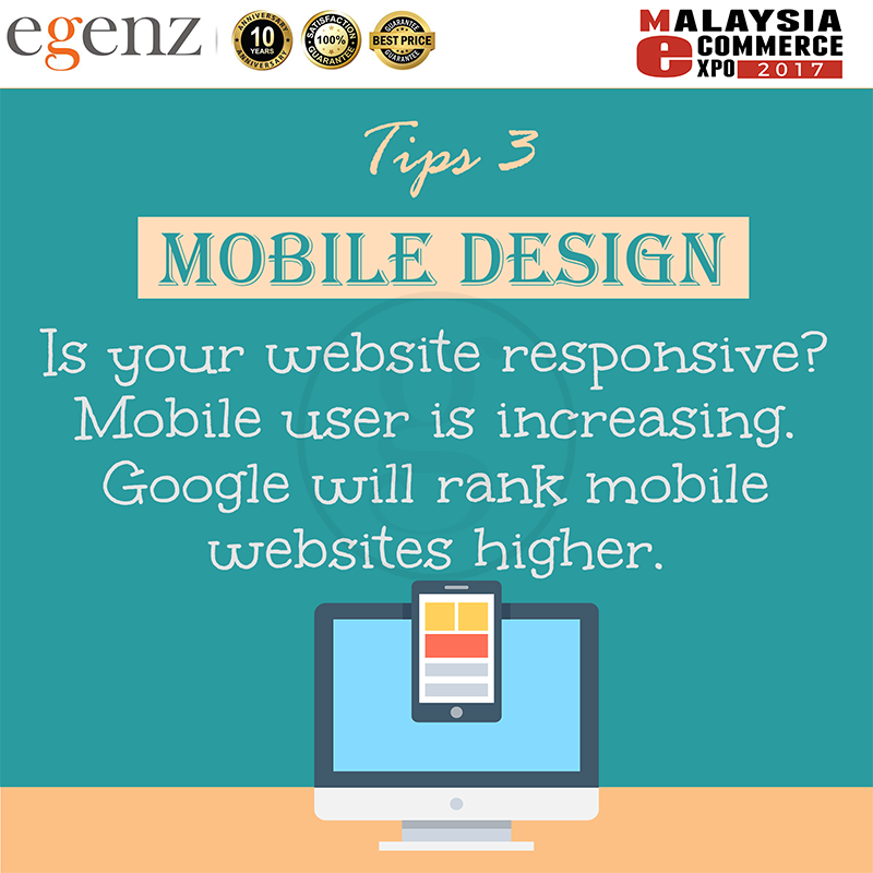 Tips 3 - Website Responsive?