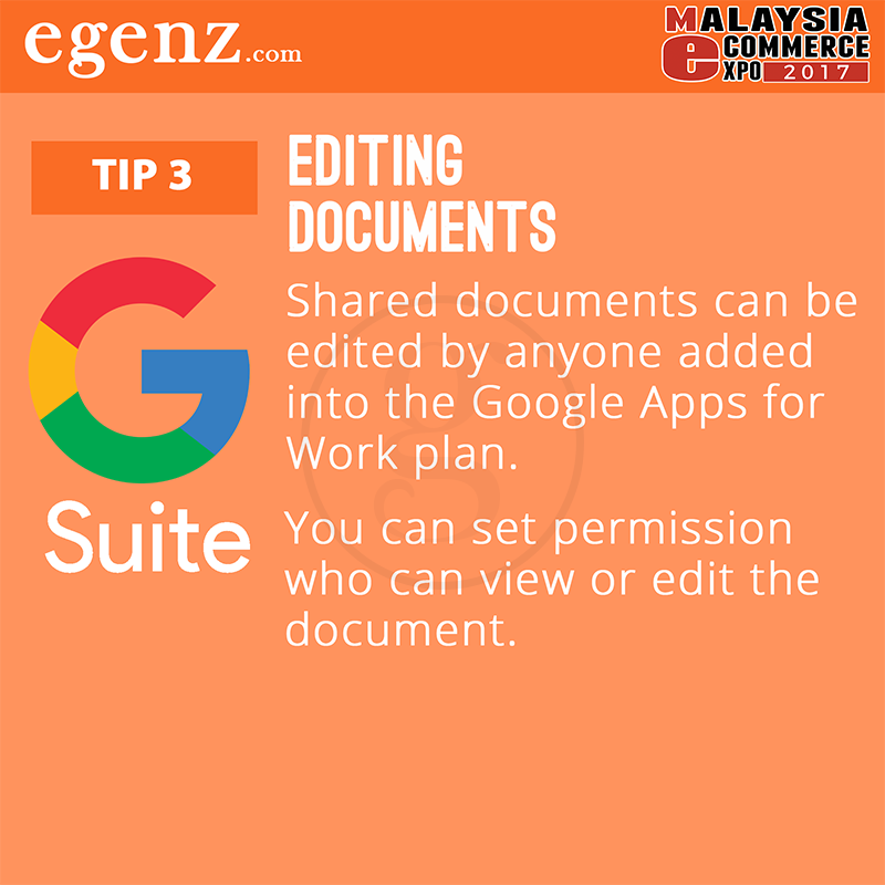 Tips 3 - Editing Documents