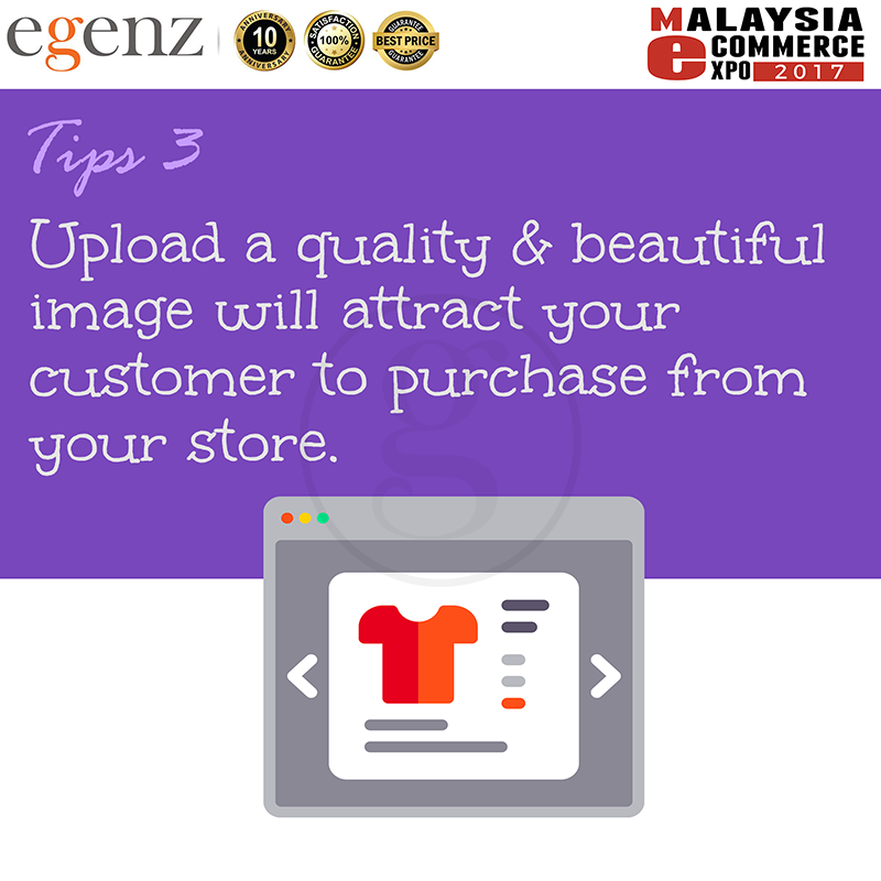 Tips 3 - Upload Quality Image