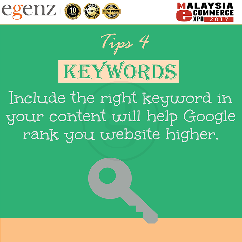 Tips 4 - Right Keyword Rank Website Higher