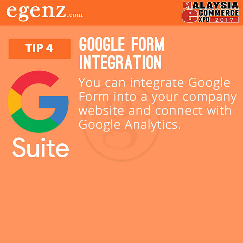 Tips 4 - Google Form Integration