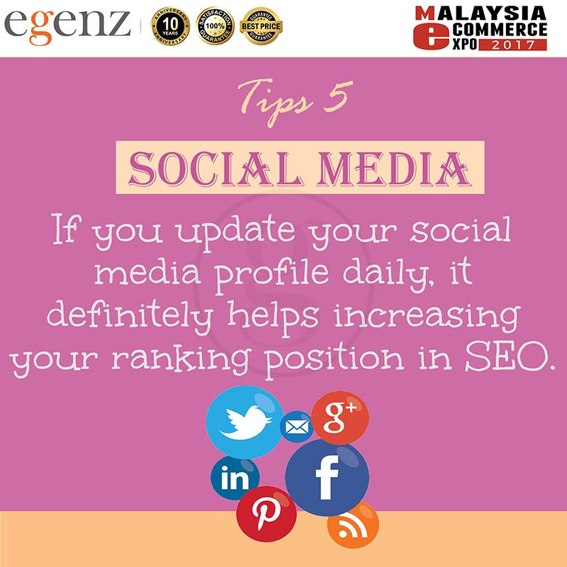 Tips 5 - Social Media