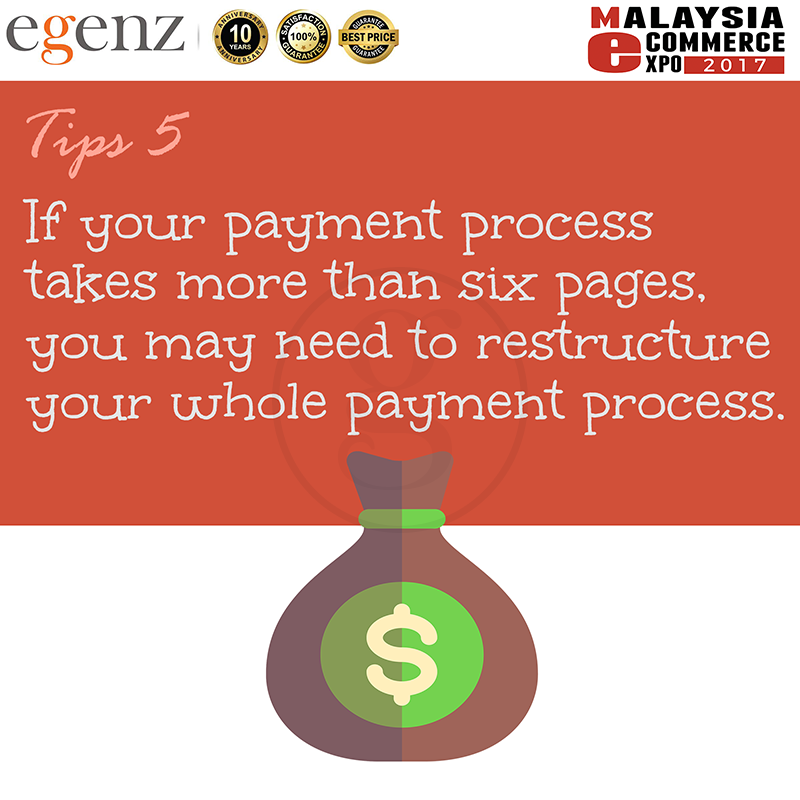 Tips 5 - Simplify Payment Process