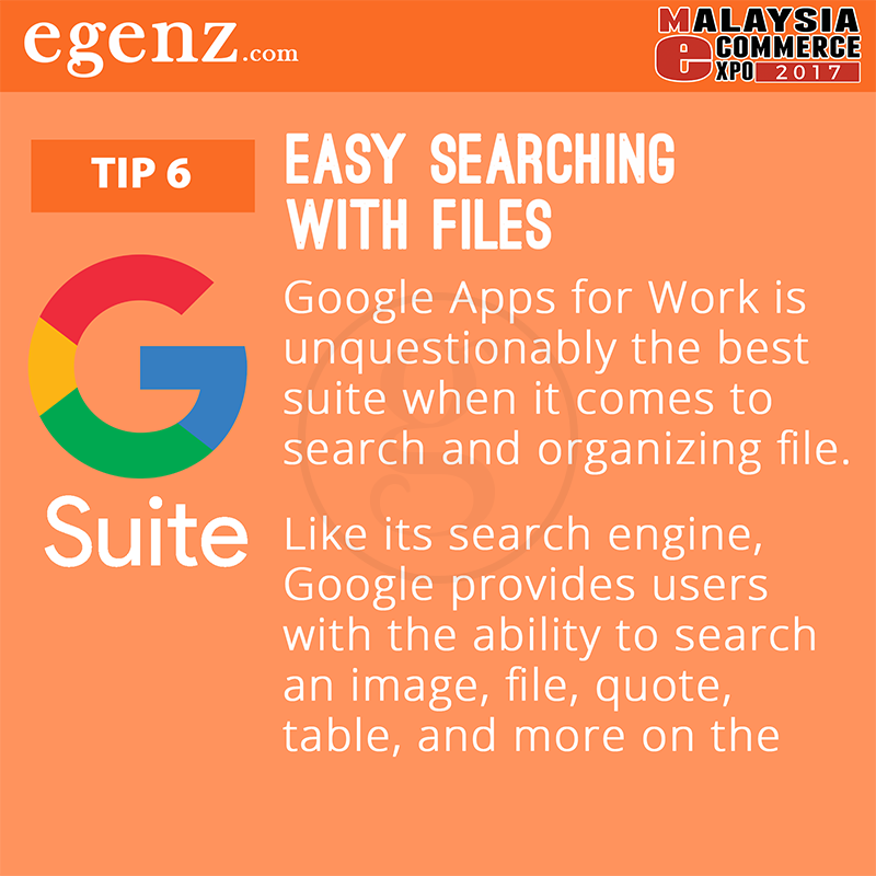 Tips 6 - Easy Searching with Files