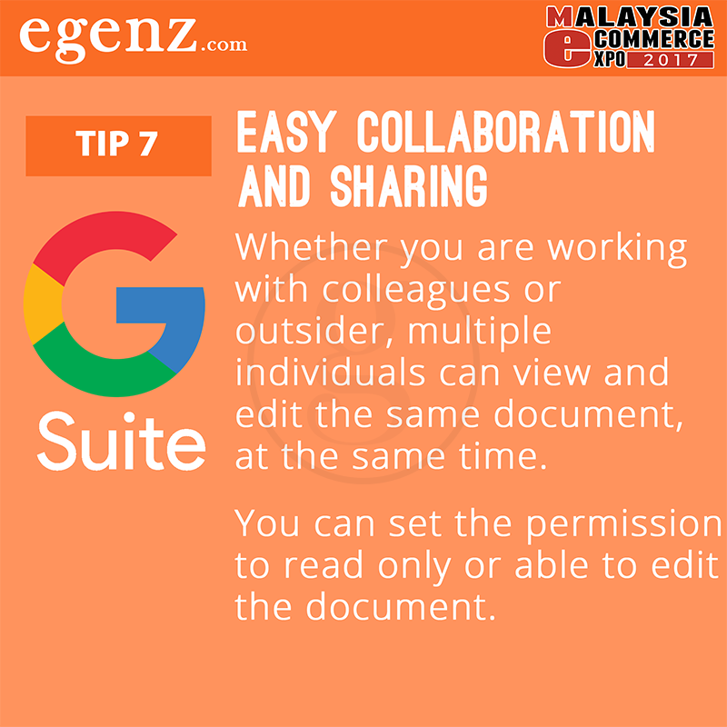 Tips 7 - Easy Collaboration and Sharing