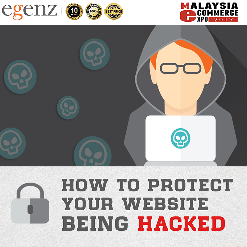 How to protect your website being hacked