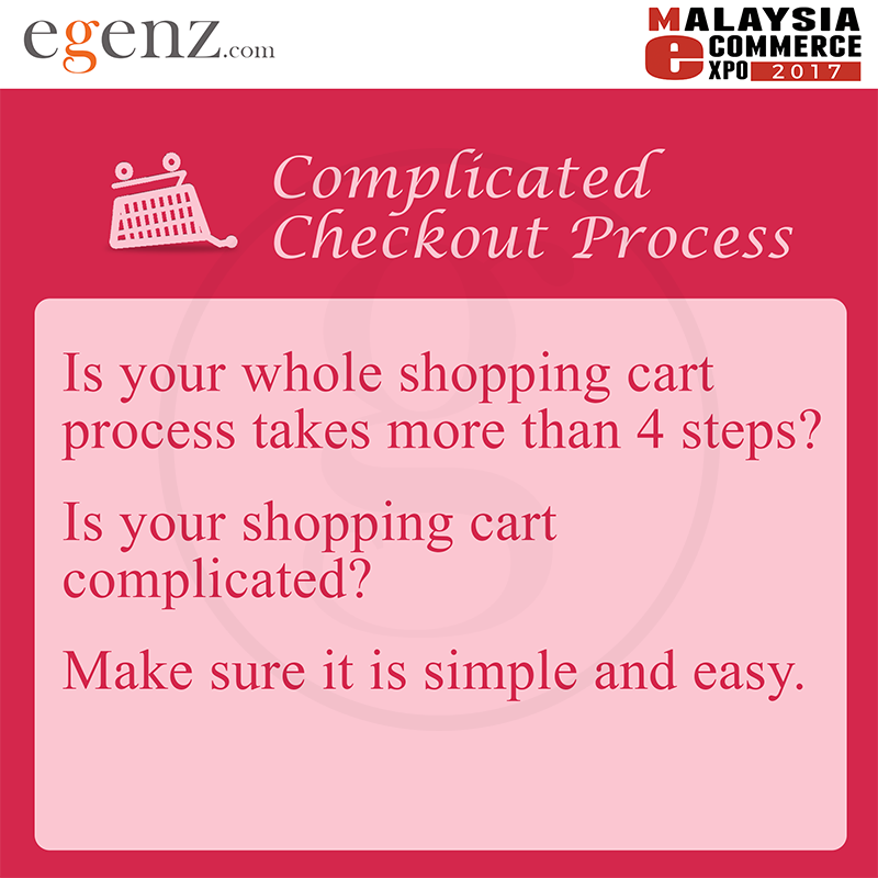 Complicated Checkout Process