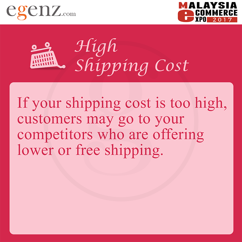 High Shipping Cost