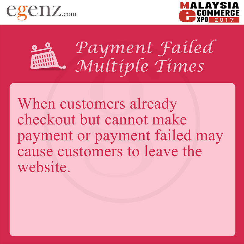 Payment Failed Multiple Times