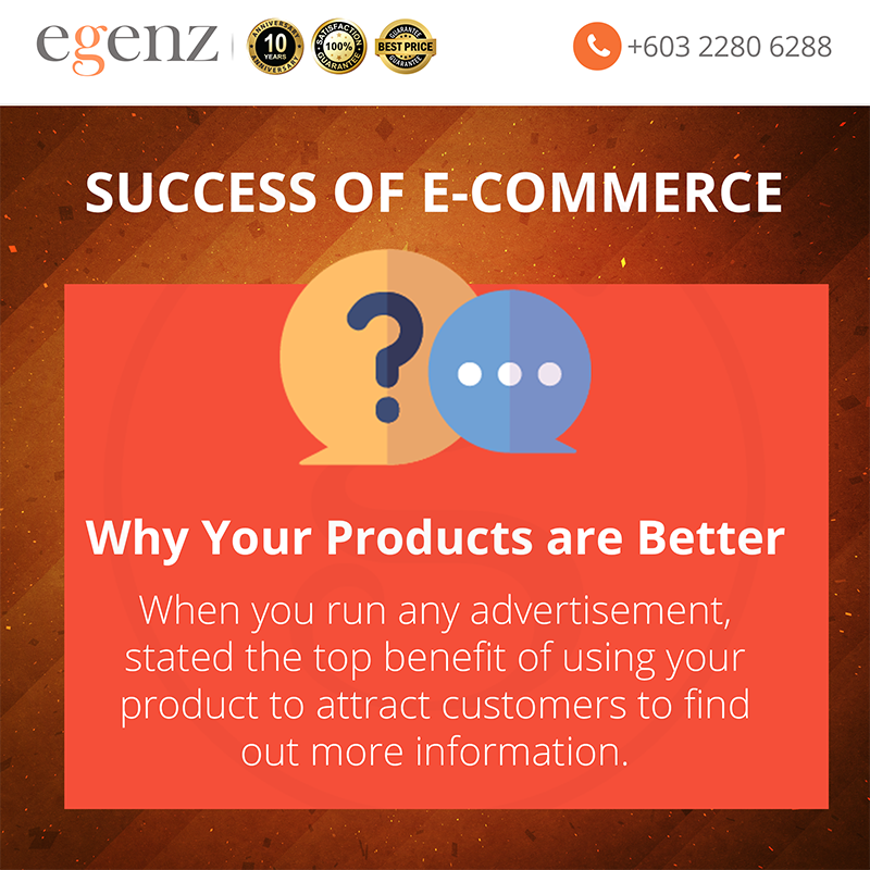 10 Why your Products are Better