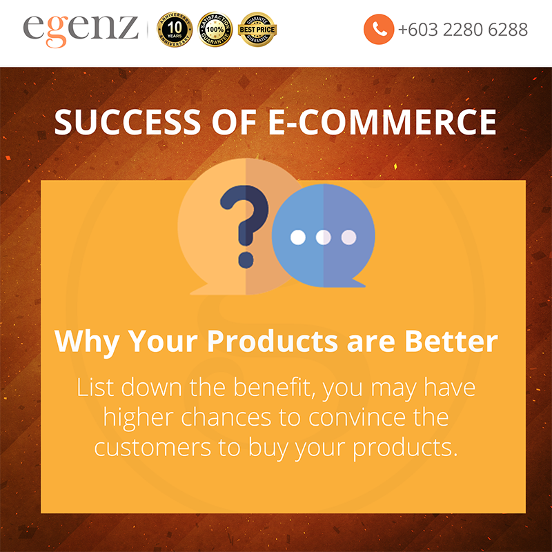 8 Why your Products are Better