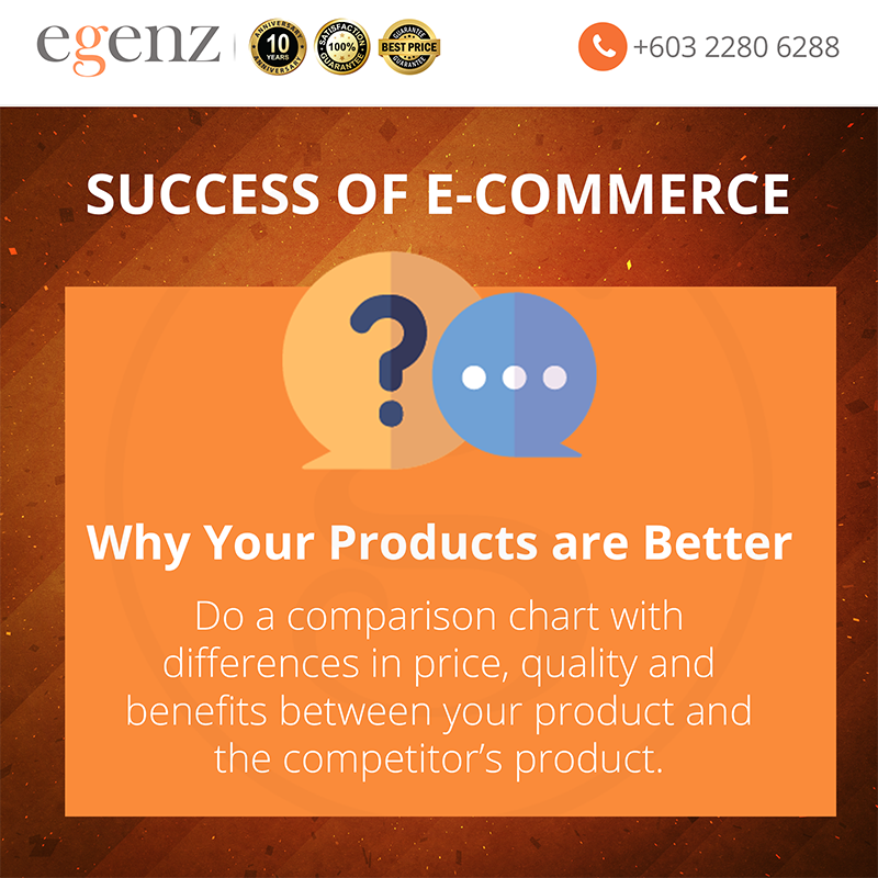 9 Why your Products are Better