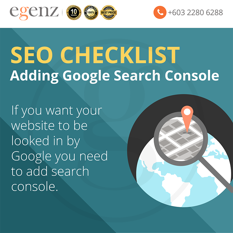 Add Google Search Console