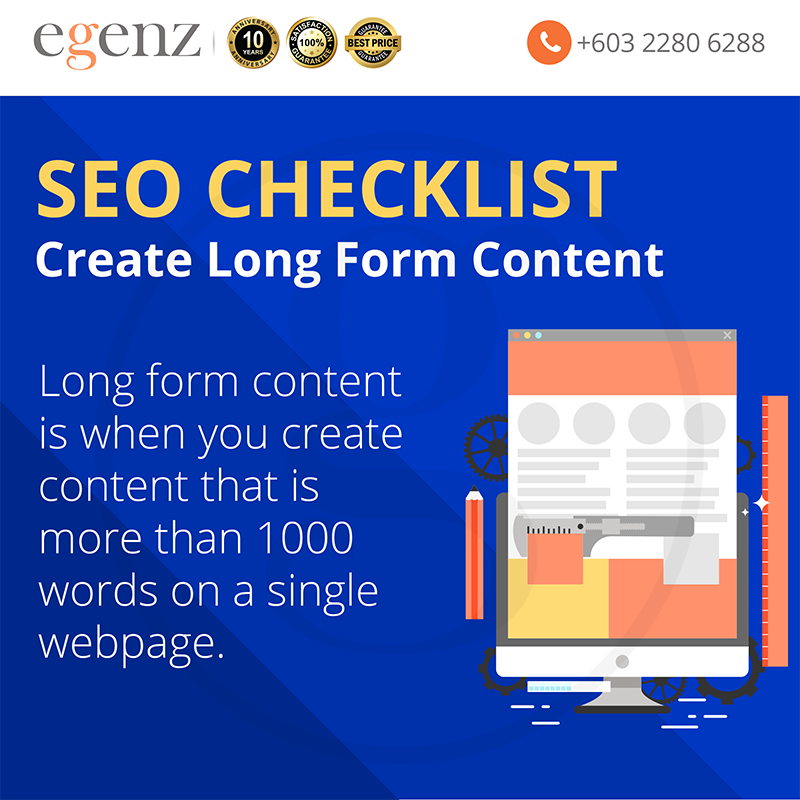 Create Long form content
