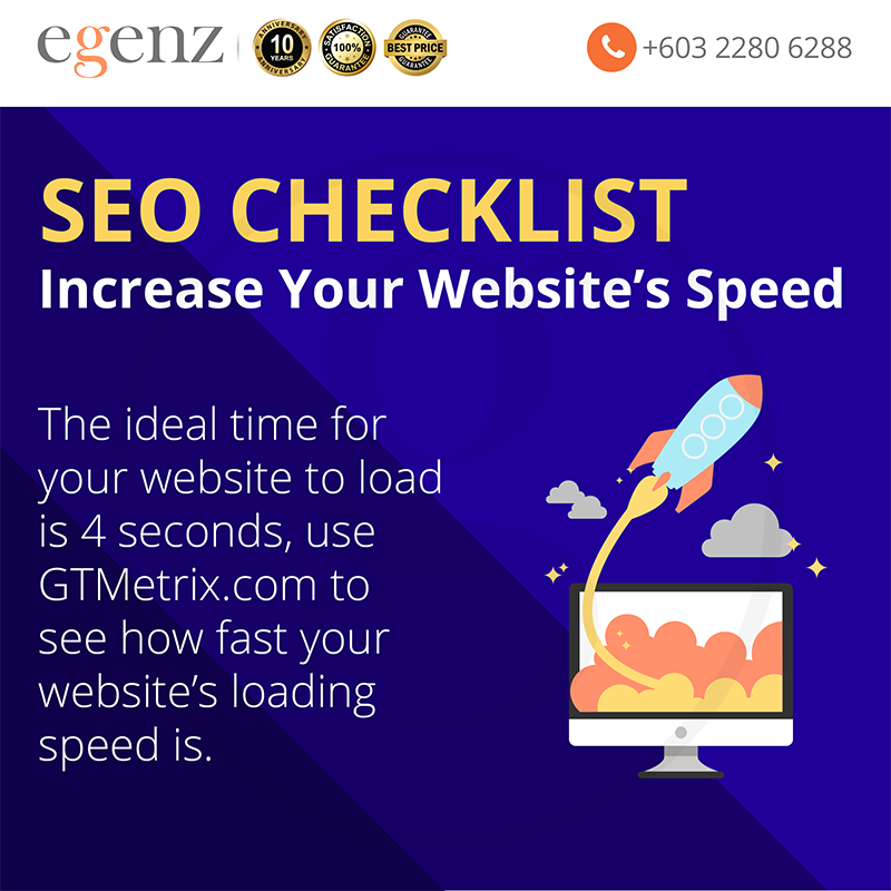 Increase website's speed