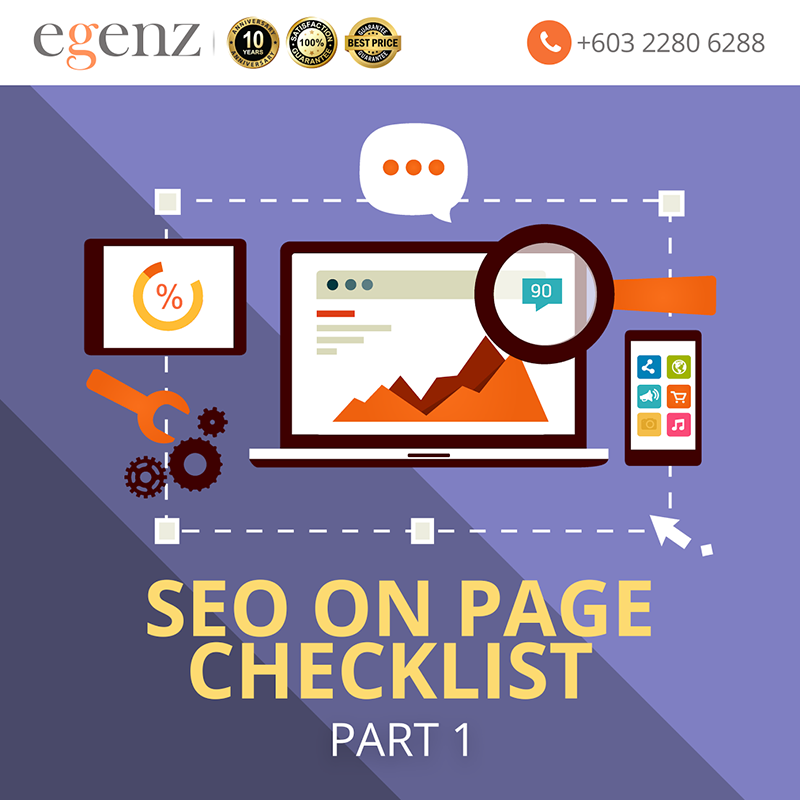 SEO On Page Checklist Part 1