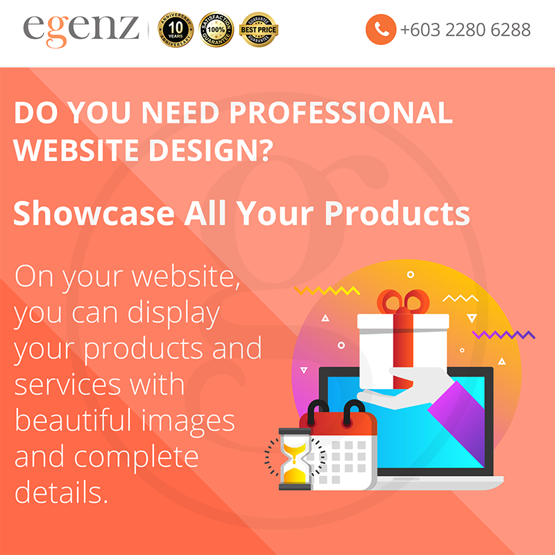 Showcase All Your Products