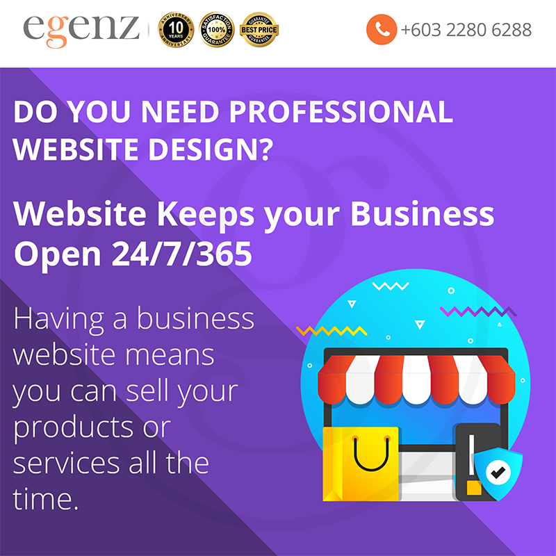 Website Keeps your Business