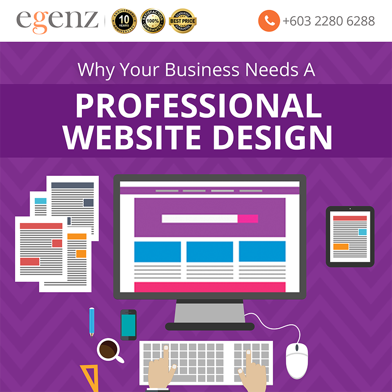 Why Your Business NEEDS A Professional Website Design